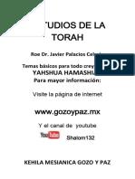 Estudios de Torah Kehila Gozo y Paz