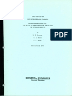 Convair - GDC-ERR-AN-992 - MRSSS Alterations for the Study of Perturbation Tolerance of Human Subjects by Newsom Harris and Brady 12-15-66
