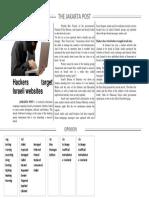 2 Hackers Target Israeli Websites