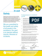 POL-00001 Corporate - Work Health & Safety Policy Statement