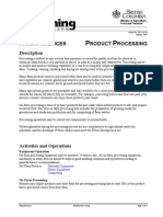 870218-50 Product Processing