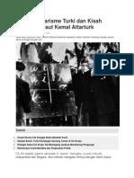 Jejak Sekularisme Turki Dan Kisah Sakaratul Maut Kemal Attarturk