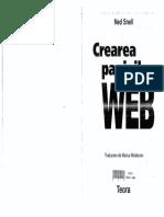 CREAREA PAGINILOR WEB[RO][Ned Snell][Ed. Teora - 2001].pdf