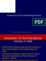 1. Food Service Industry