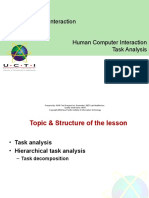 9 Task Analysis