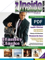 September Issue of Jazz Inside NY Magazine