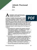 Michel Debrun - A identidade nacional brasileira.pdf