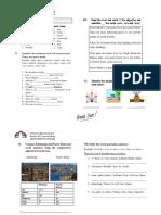7th Grade Worksheet