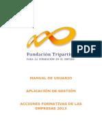 Manual de La Aplicación 2013