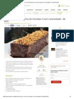 Reteta Culinara Tort de Biscuiti Cu Crema de Ciocolata Si Nuci Caramelizate - De Post _ Bucataras
