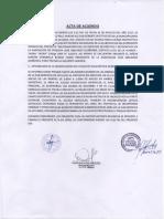 Acta de Acuerdo en Mdaa
