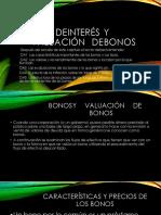 Finanzas Bonos y Evaluacion de Bonos