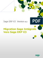 Migration Integ x3 v62
