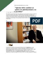 entrevista villacañas populismo