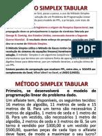 Aula-pl-Introd. Simplex Tabular - Maximização