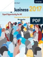 Doing Business in Mongolia 2017
