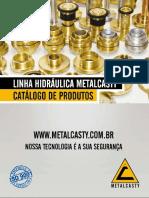Catálogo Completo Linha Hidráulica Metalcasty Out 2016