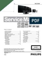 10372_Philips_MCD388-55_Sistema_reproductor_DVD_Manual_de_servicio.pdf