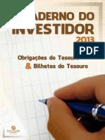 Caderno de Investidor - Bolsa de valores