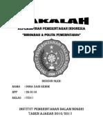 Kepemimpinan Pemerintahan Indonesia Dona