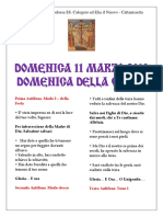 12.(2018) LITURGIA Domenica 11 Marzo 2018 - Domenica Della Croce