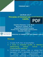 LLB - Principles of Criminal Law
