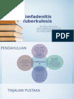 Limfadenitis Tuberkulosis- Dr. Arif Fixxxx