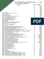 RS 07-2017 Relatório Sintético de Materiais - Versão 02