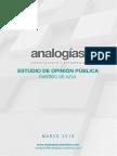 Estudio de Opinión - Analogías Azul