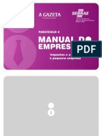 Impostos e a MPE - Manual do Empresário - Fascículo 4.pdf