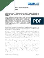 18. Summary of Significant CTA Decisions (April 2010)