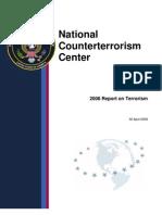 NCTC 2008 Report on Terrorism