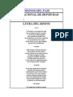 HIMNOS De centroamerica