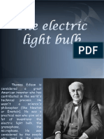 The Electric Light Bulb