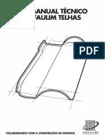 Manual Técnico Telhas