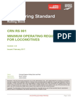 Crn Rs 001 v20 Minimum Operating Requirements for Locomotives