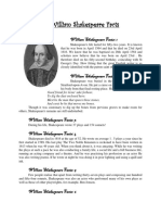 William Shakespeare Facts
