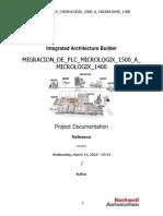 Migracion de Plc Micrologix 1500 a Micrologix 1400