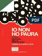 Festival Della Psicologia di Torino - Programma Completo