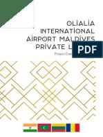 Olialia Airport Maldives Exec Summary Version 1.0