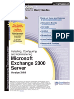 MCSE - Exam 70-270 - Sybex - Installing, Configuring, And Administering Microsoft Exchange 2000 Server