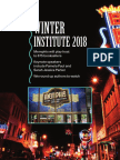 Winter Institute 2018