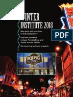 Winter Institute 2018