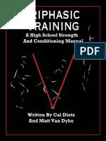 Xlathlete Triphasic Training High School Strength Training Manual 2.0