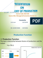 Production Presentation