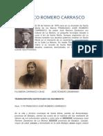 Quién Es Francisco Romero Carrasco