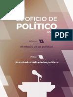 El oficio del Político Módulo 1