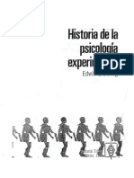 Boring, Edwin - Historia de La Psicología Experimental