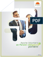 Aportes Voluntarios a Pensiones Obligatorias