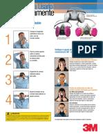 Prueba de Ajuste Respirador medio rostro